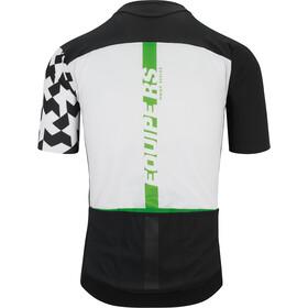 ASSOS Equipe RS Aero Jersey korte mouwen Heren, data green